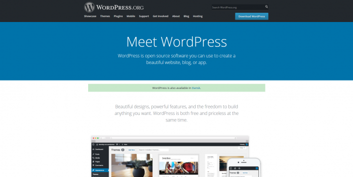 OKEI-Opdateringsservice-Webbureau-Hvad-er-WordPress