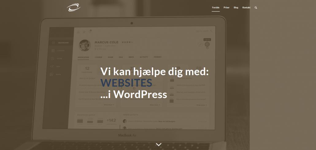 WordPress Website - Hjemmeside - Webbureau OKEI